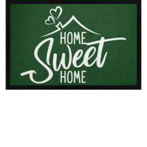 Home Sweet Home - Fußmatte mit Gummirand-833
