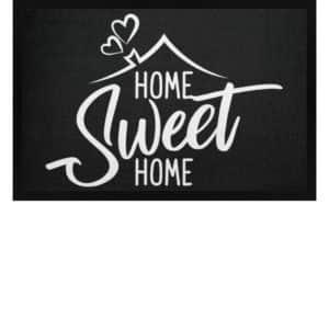 Home Sweet Home - Fußmatte mit Gummirand-16