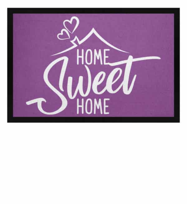 Home Sweet Home - Fußmatte mit Gummirand-31