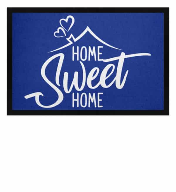 Home Sweet Home - Fußmatte mit Gummirand-27
