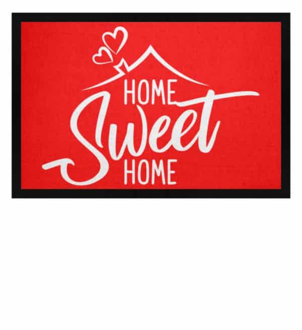 Home Sweet Home - Fußmatte mit Gummirand-5761