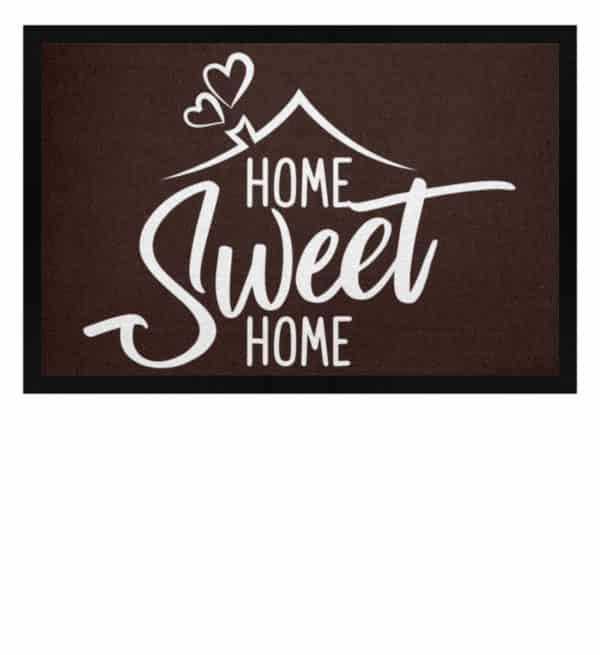 Home Sweet Home - Fußmatte mit Gummirand-1074