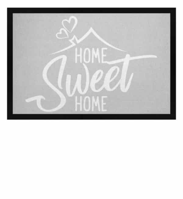 Home Sweet Home - Fußmatte mit Gummirand-1157