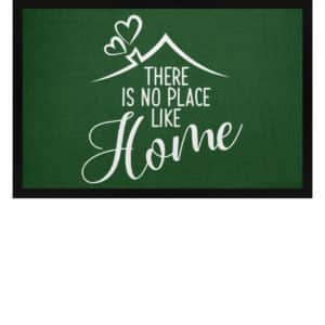 There is no place like home - Fußmatte mit Gummirand-833