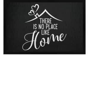 There is no place like home - Fußmatte mit Gummirand-16