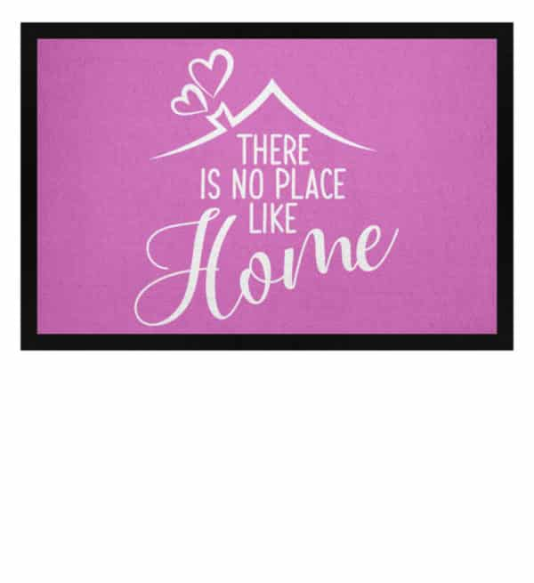 There is no place like home - Fußmatte mit Gummirand-5759