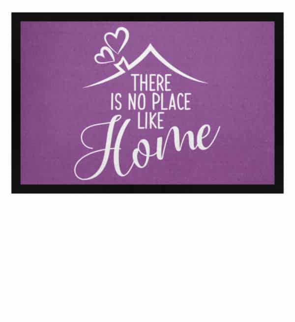 There is no place like home - Fußmatte mit Gummirand-31