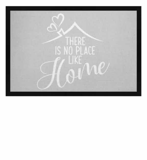 There is no place like home - Fußmatte mit Gummirand-1157