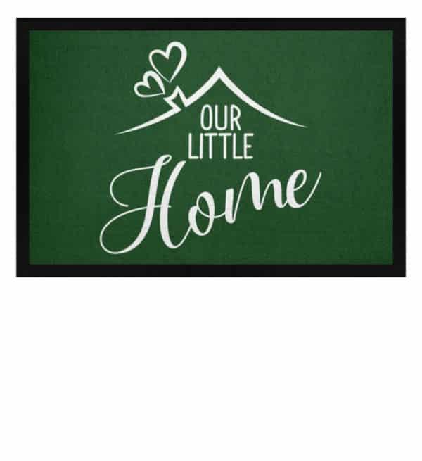 Our little home - Fußmatte mit Gummirand-833