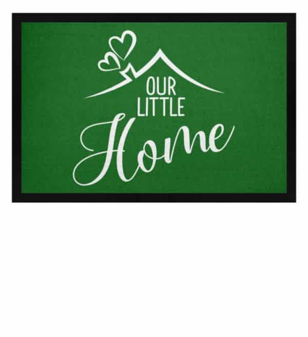 Our little home - Fußmatte mit Gummirand-718
