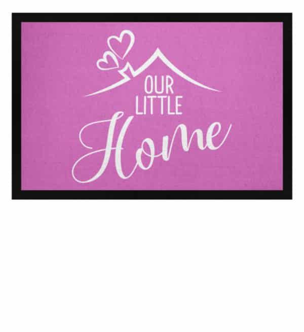 Our little home - Fußmatte mit Gummirand-5759